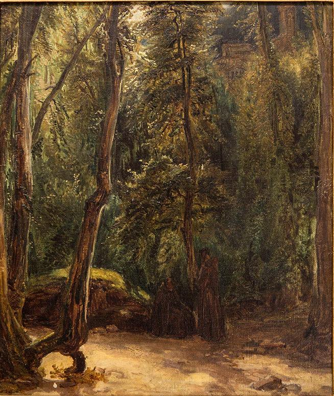 1829 Öl auf Leinwand von Terni Blechen