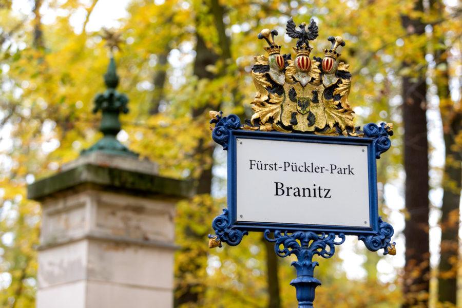 Parkeingang Branitz