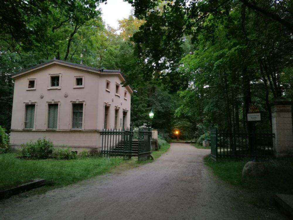 Eingang zum Branitzer Park am Cottbuser Torhaus
