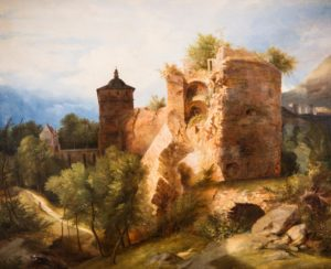 Carl Blechen Heidelberger Schlossruine um 1831