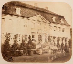 Hauptfront Schloss Branitz