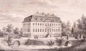 Schloss Branitz um 1840