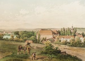 Pfoerten aus Alexander Duncker um 1855