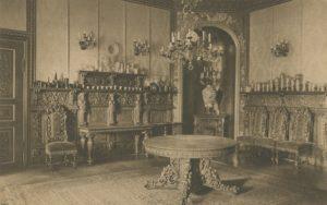 Schloss Branitz Speisezimmer Postkarte