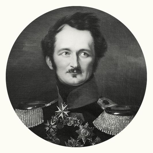 Vignette Fürst Hermann von Pückler